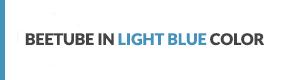 BeeTube Light Blue