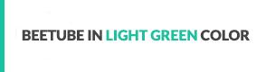 BeeTube Light Green