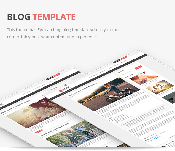 betube blog theme